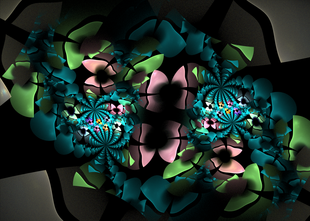 dark pattern with butterflies by Andrea1981G