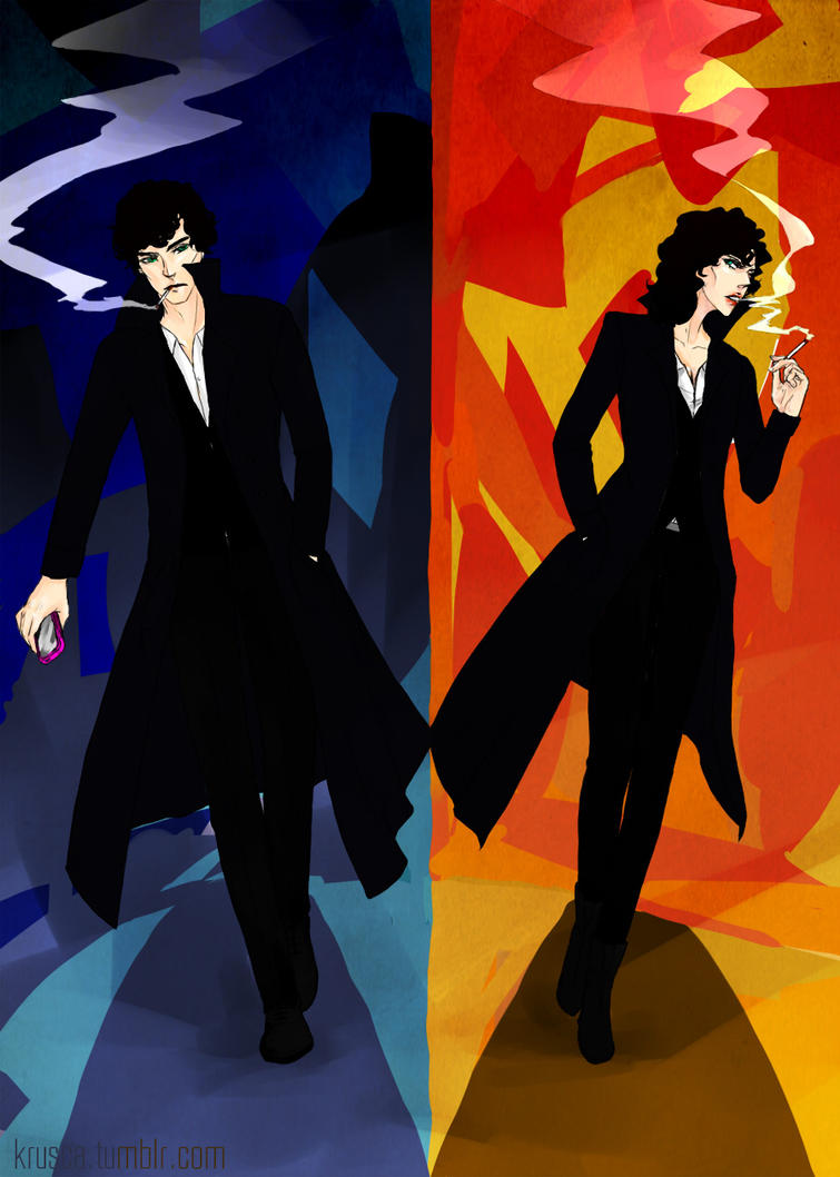 Sherlock vs Femlock by krusca