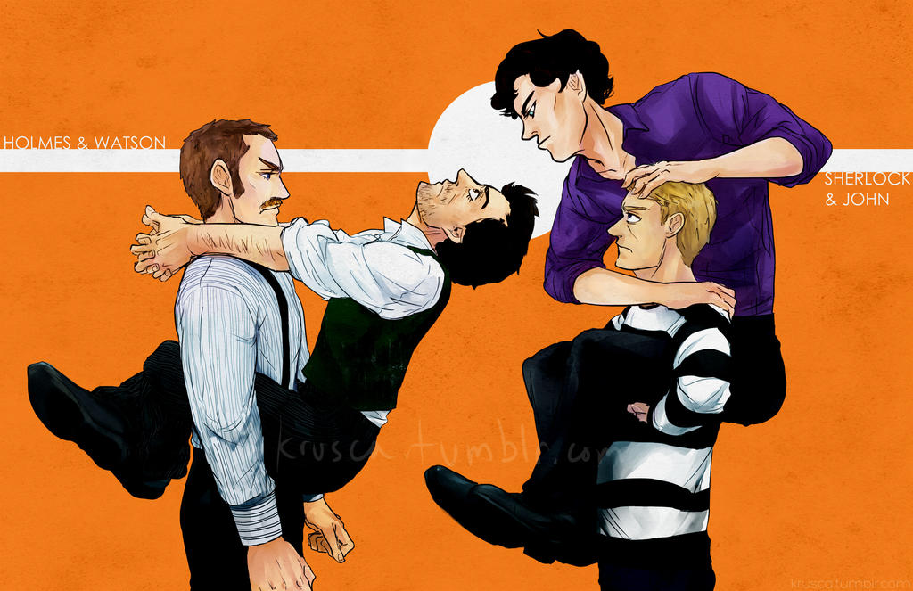 How to train your Sherlock Holmes by krusca