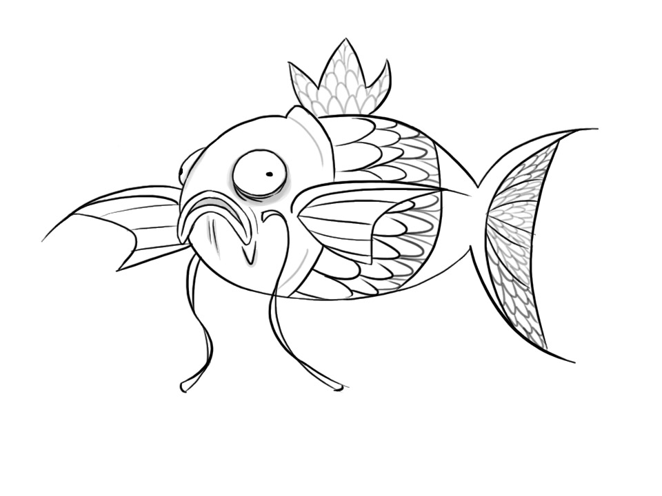 Magikarp Coloring Pages Coloring Pages