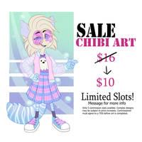 COMMISSION SALE - $10 Chibis!