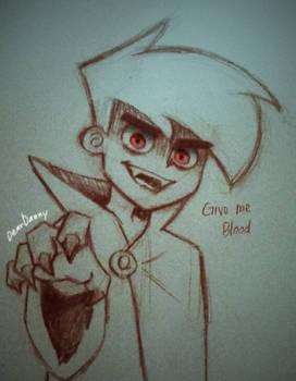Vampire Danny Phantom