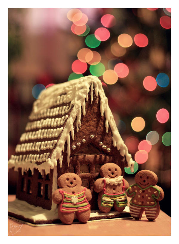 gingerbread house by BezwzglednaRyba