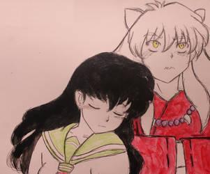 Inuyasha and Kagome by Matthew154274