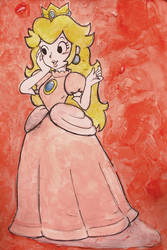 Super Mario Bros: Princess Peach by Matthew154274