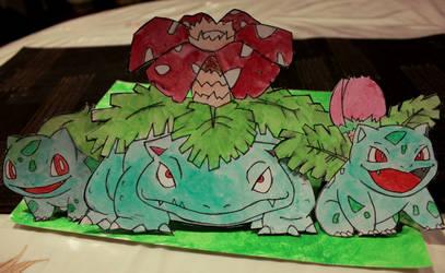 Bulbasaur Family Tree! by Matthew154274