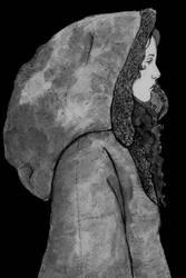 Hooded Woman by Matthew154274