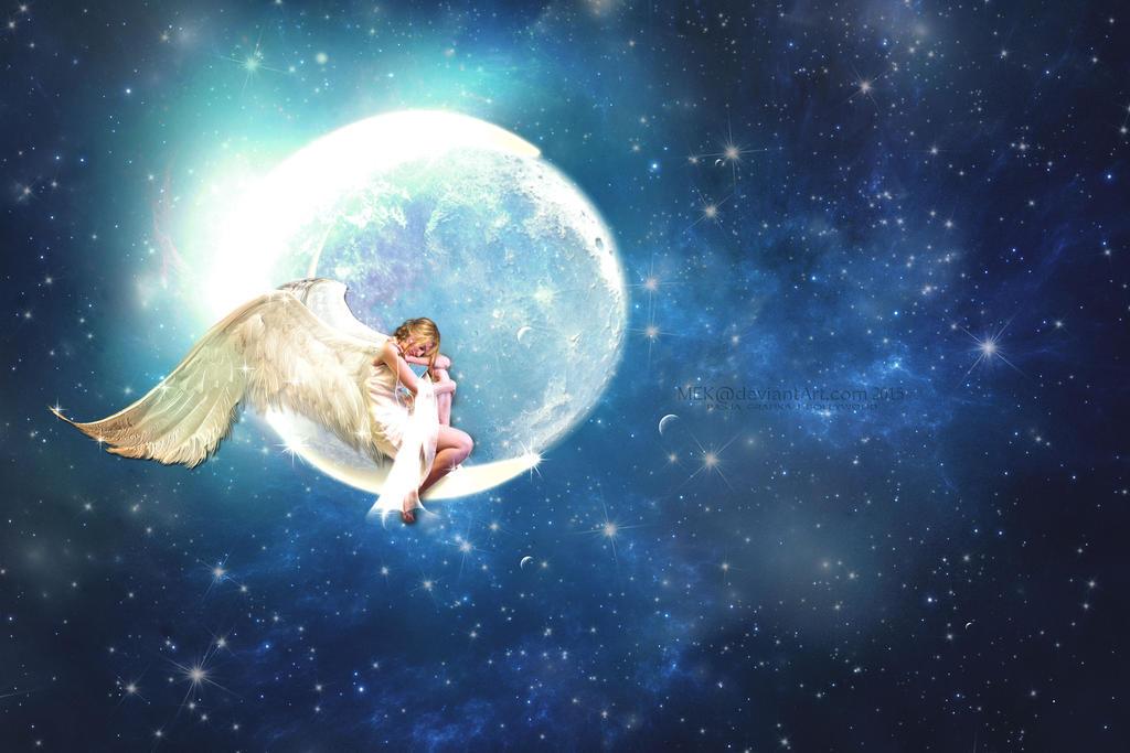 Angel Moon by MEK-fan