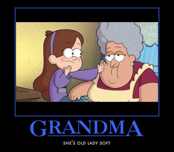 gravity falls soos grandma by narutosd1