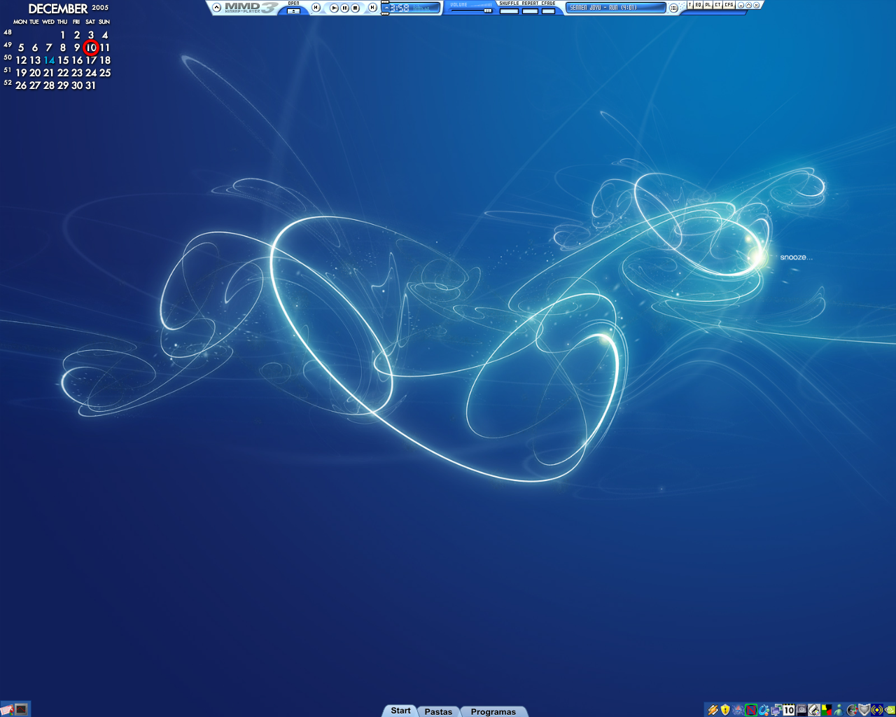 Desktop for December 10th 2005