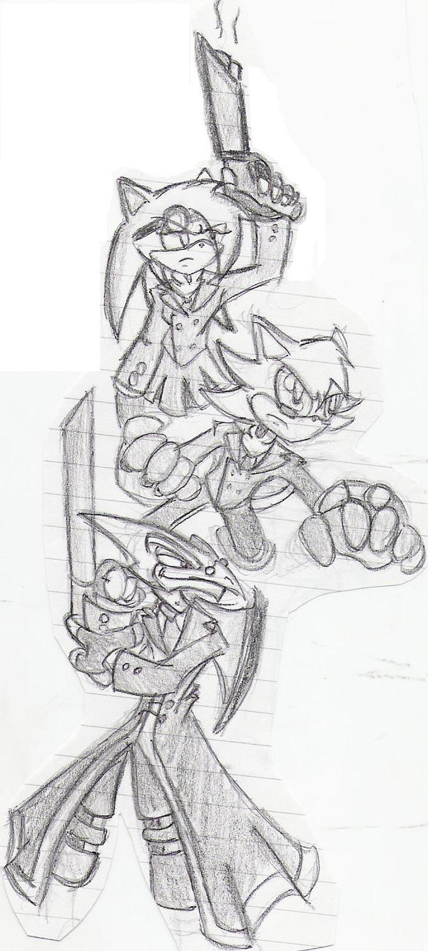 Made up Sonic characters by Eternal-Shadow-S
