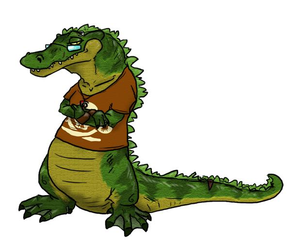 Ukulele Gator by Alligator-Jesie on DeviantArt