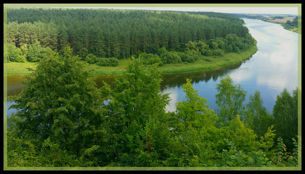 Lithuania green country