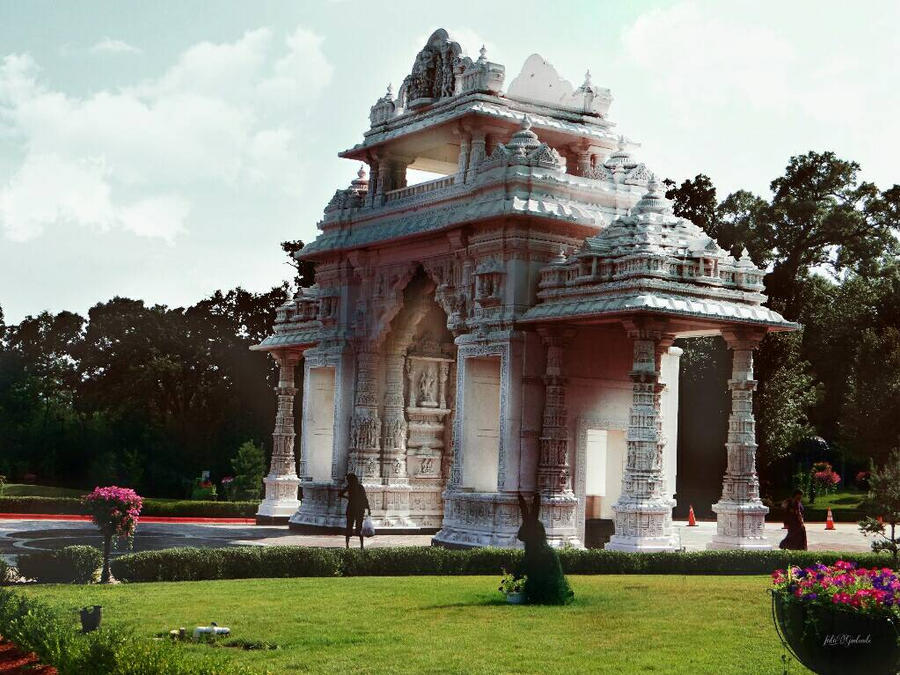 Indian temple. ....6