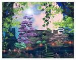 Mystic garden....