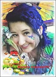 Happy Easter my dear friend's!!!!