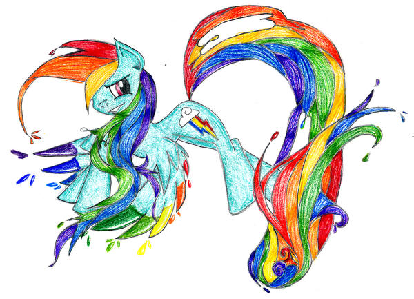 Rainbow Dash by RainbowCrash33