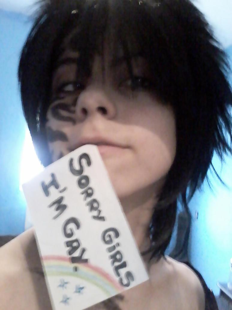 Uchiha Sasuke - Sorry Girls, I'm gay by HinaCrimson