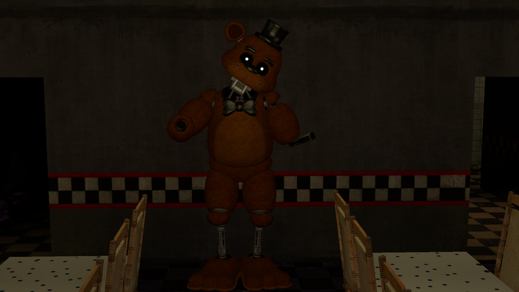 Ignited freddy fnaf1 edition by candy x cindy on deviantart