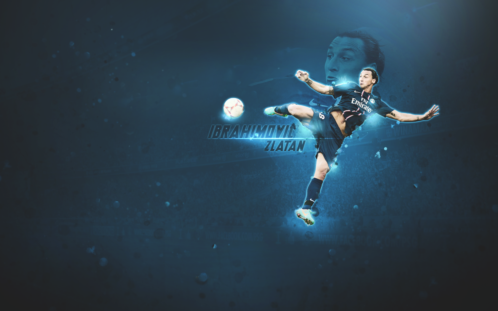 zlatan ibrahimovic wallpaper copy by meesvr3 on deviantart