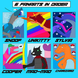 6 Fanarts part 1