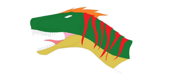 JP/JW Novelevel Velociraptor Head Cosept Art.