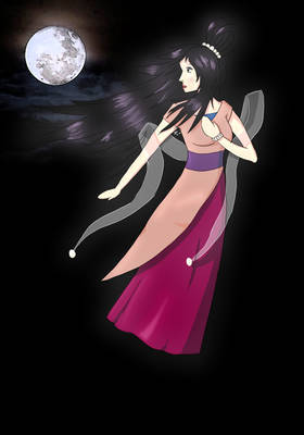 The Chinese Moon Godess