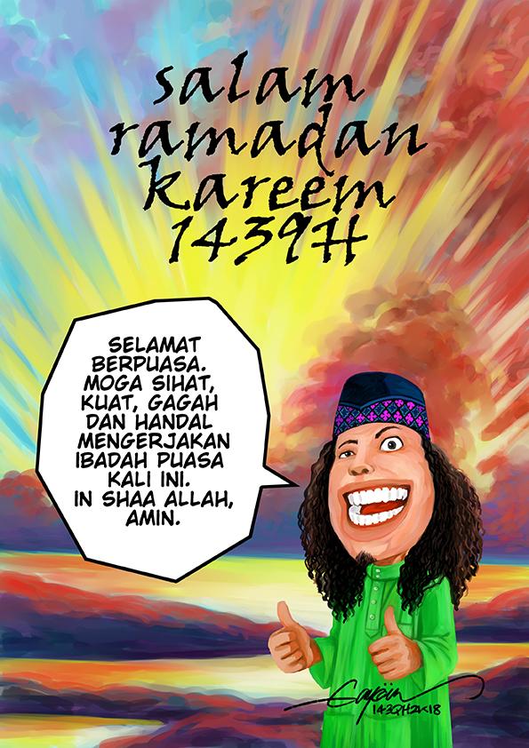 SALAM RAMADAN KAREEM 1439H by GAYOUR