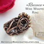 -- Roccoco Ring tutorial --