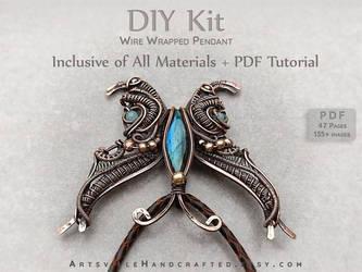 Wire Wrap DIY Project Kit : Wearable Art
