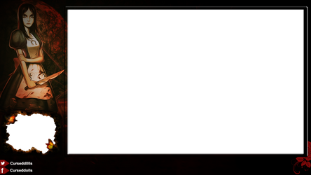 Alice madness returns twitch overlay by blackboxed