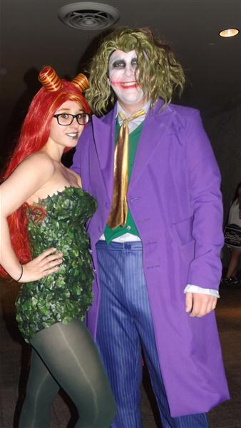 Joker and Ms. Ivy by RaindropCosplay