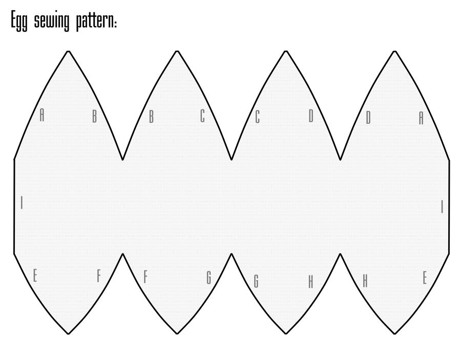 Egg sewing-pattern by NekoPandaPlushies on DeviantArt