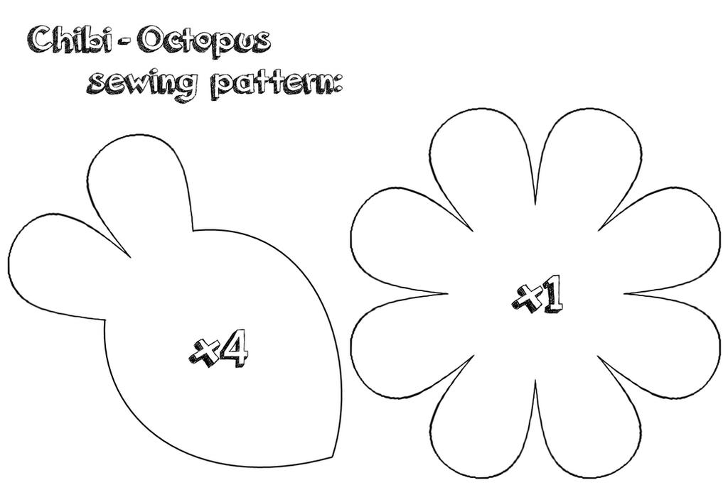 Octopus sewing pattern by NekoPandaPlushies on DeviantArt