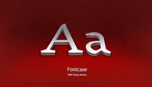 Fontcase wallpaper