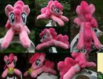 Shoulder Plushie: Pinkie Pie (Open Eyes) by BastlerRJ