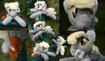 Shoulder Plushie: Derpy Hooves (Open Eyes) by BastlerRJ