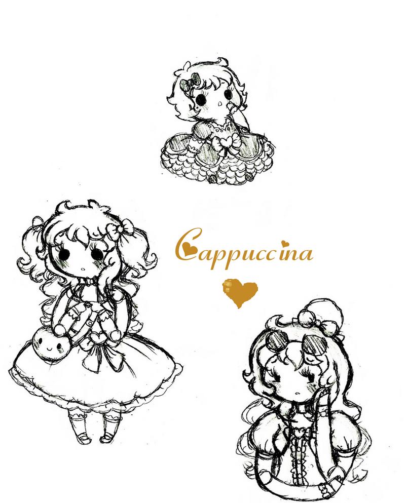 Cappuccina Sketches by Ask-PrinceBoutique