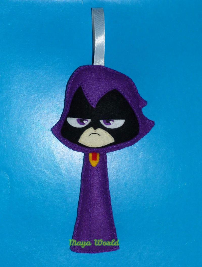 Raven From Teen Titans Toys : Teen titans go raven corvina by francesca mayaworld on