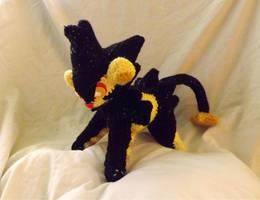 Shiny Luxray Crochet Amigurumi