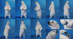 Polar Bear sculpture by Caremey