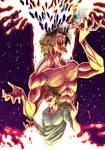 The Attack Titan/Eren Yeager (Shingeki No Kyojin) by Steel-Ink