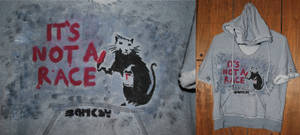 Banksy Rat-Race Hooded Sweater
