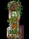 Mossy grandfather clock by kenichiiginsei