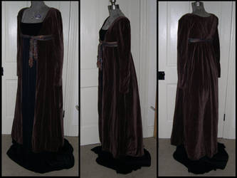 Brown Regency Coat by ElegantlyEccentric