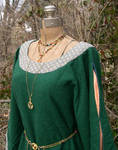 Morgan le Fay's Gown- detail