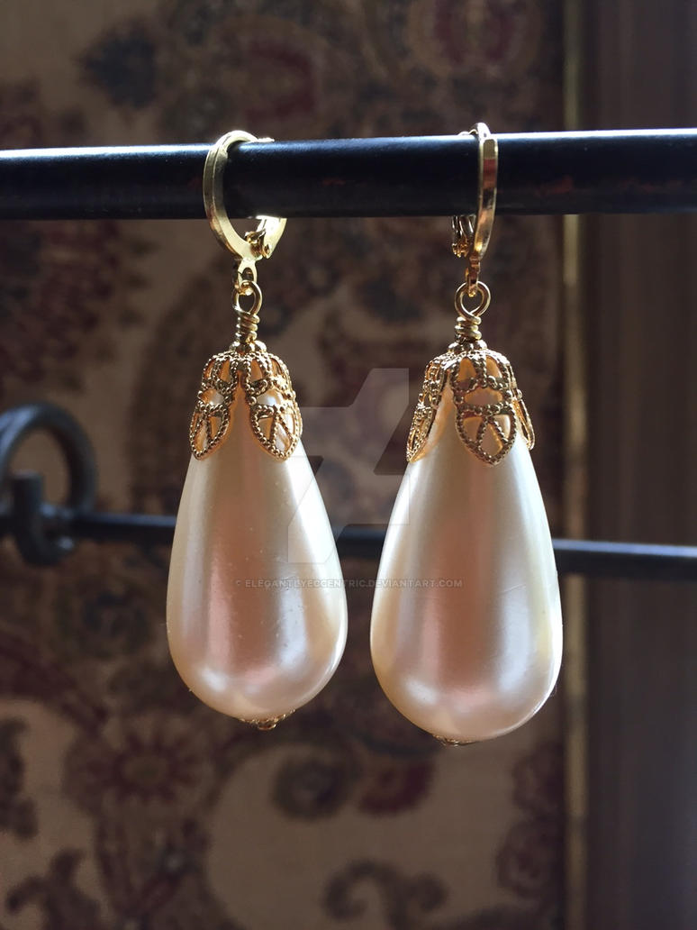 A Girl's Pearl Earrings 2 by ElegantlyEccentric