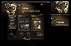 Game Site Template by karsten