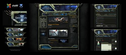 Starcraft Forum Skin Joomla