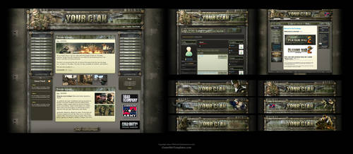Clan Forum and Joomla Skin